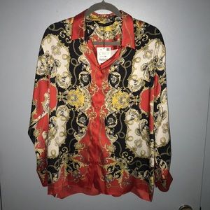 Amazing new with tags Zara blouse